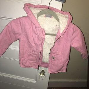 Other - Carhartt Girls' Infant  Sherpa Lined Jacket
